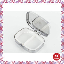 45 colors mix wholesale Fashion 100% handmade portable beaded compact mirror cute hand mirror beaded compact mirror