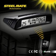 2015 SteelmateTP-S1 solar power tpms car tpms, tire pressure monitoring system, car tyre pressure sensore