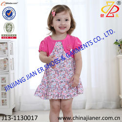 jianer hot sale cheap wholesale real sample girls dress