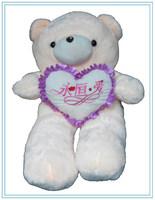 High Quality Gaint Teddy Bear w/heart Plush Toys