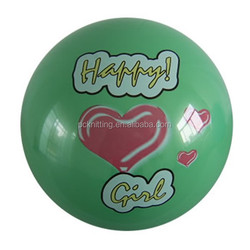 9 inch heart print toy expandable ball and stick model for kids