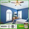 Non-polluting, non-toxic, soft color latex paint brands
