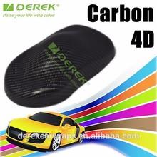 DEREK Gloss 4D Carbon Fiber Vinyl Sticker Roll With Air Channel