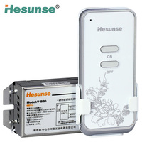 Y-B20 Classic 1 Ch RF Wireless Remote Control Switch For Light 220V 10A Anti-thief Function 110V