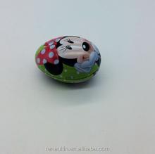 Egg Christmas Gift Tin Box/Tin Container For Chocolate