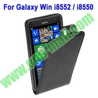 Cover for Samsung Galaxy Win Leather Case for Samsung i8552 / i8550
