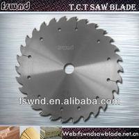 "Good wear resistance hardwood ""V"" Cutting carbide tipped circular saw blade"
