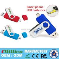 New Arrival OTG Smartphone USB Flash Drive 4gb, mobile phone usb 8gb, cellphone usb memory, cell phone pendrive 32gb