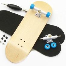wood finger skateboard