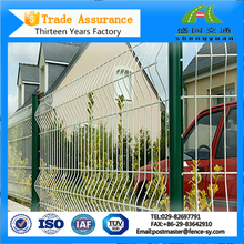 Outdoor /Rubber Coated /Curved Metal Fencing