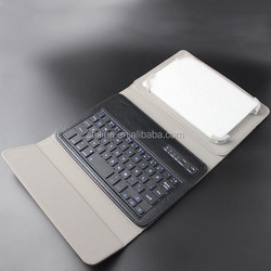 Customization brand tablet case with bluetooth keyboard leather case cover