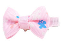 2015 new product Kids Wholesale Grosgrain Ribbon Hair Clips