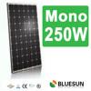 Bluesun cheap CIF price 250w monocrystalline solar panel module