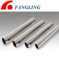 welding mirror finish flexible stainless steel tube 5mm