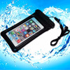 PVC floating waterproof bag for surfing with neck strap