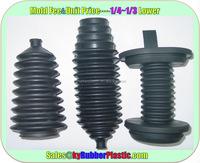 Custom Molded Automotive Rubber Bellows / Car EPDM Boots Manufacturer / Auto Rubber Boots Bellows