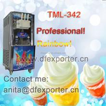 TML342 big production rainbow ice cream machine