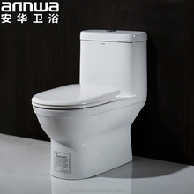 western style upc toilet for one piece