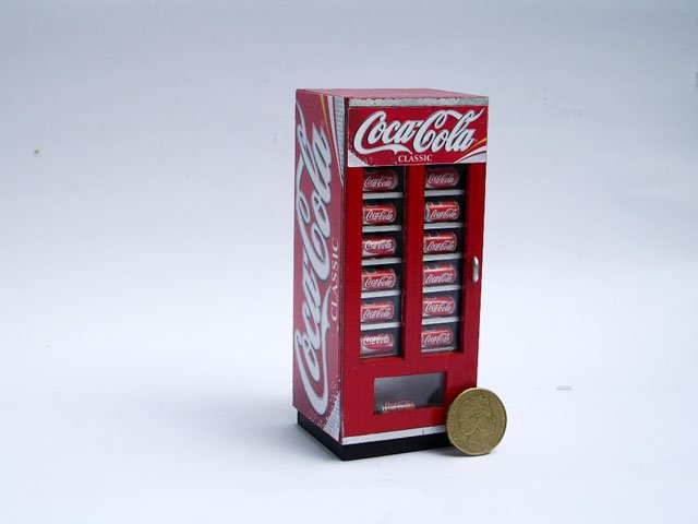 coke mini vending machine