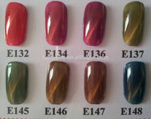 UV gel polish popular color cat eye gel winter nail art