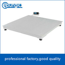 OIML floor scale LED 3ton 1*1m 1.2*1.2m 1.5*1.5m any size for option