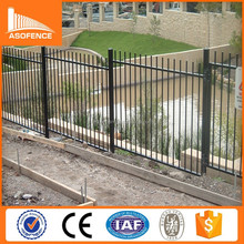 High quality good price aluminium security fencing powdercoated