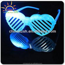 LED Flashing Heart Shape Shutter glasses, Party/Leisure Decoration