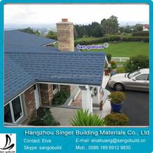 2015 NEW&HOT!!! Laminated/Architectural Blue fiberglass asphalt roof shingle tiles