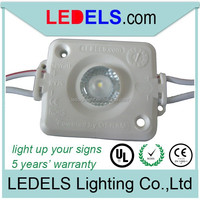 UL listed Nichia 1W led backlight waterproof 12V 1.6W 120LM sign led module light