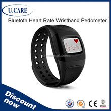Popular bluetooth smart heart rate watch, wristband heart rate monitor, heart rate monitor pulse