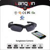 New inventional bluetooth functional glases with camera full HD glasses bluetooth camera