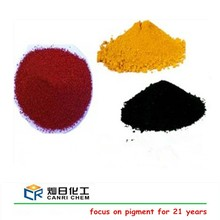 Mixed acid method produced iron oxide color pigments/red oxide powder prices /black iron oxide for ceramic tile powder