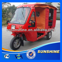 Low Cut Crazy Selling half cabin cargo tricycle