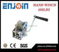 Manufacturer 600lbs small hand manual mechanical galvanized capstan winch with CE SGS