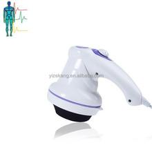 2014 handheld electronic fat pushing massager,red and white fat pushing massager