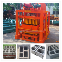 China coal group 2015 hot selling concrete block making machine