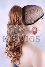 Heat resistant fiber synthetic wavy hair