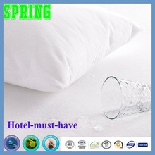Anti-bacterial waterproof air-permeable mattress protector pillow case