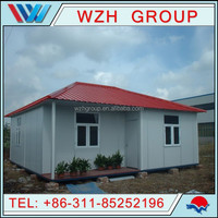 China prefabricated houses/ prefab home with two bedroom house plans