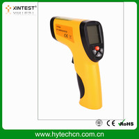 HT-826 Dongguan industrial infrared digital thermometer -50~550C with unit C and unit F