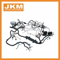 electric cabin wire harness excavator ZAX240 0006003 Aftermarket Cabin Lock Assy engine cover lock