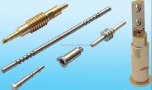 cnc precision knurling and threading shaft