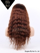 Wholesale factory price 100% brazilian hair wig chinese virgin hair full lace wig