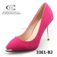 New design upper suede material elegant wine glass heel shoes alibaba china high heel shoe for wholesales lady fashion shoe