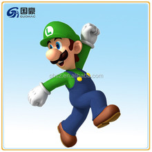 Customized resin super mario galaxy 2 super mario bros figure model
