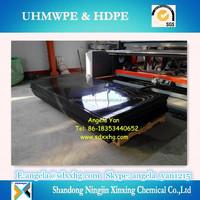 Low price for HDPE/PE Sheet High Density Polyethylene sheet Black color