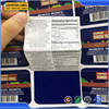 2015 Labels Printing Custom Booklet Folding Label