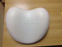 white color foam heart bath pillow/bath backrest/bathtub pillow