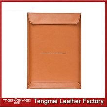 """Leather Protecter Sleeve Case Bag for Apple 12"""" Macbook,For 12 inch Macbook Leather Bag"""