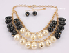 New Design Fashion Jewelry European Style Necklace For Women&Earring Set